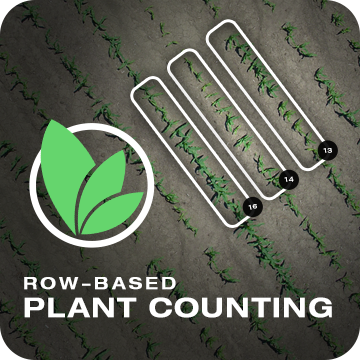 Row Based Plant Counting