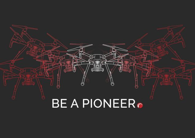 Be a pioneer in drone technology.